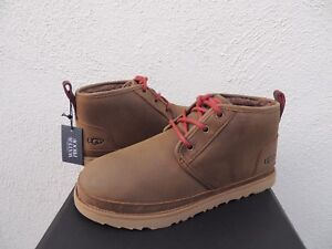 39b85c30e40 Details about UGG NEUMEL GRIZZLY WATERPROOF LEATHER CHUKKA ANKLE BOOTS, US  8/ EUR 41.5 ~NIB