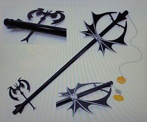 Kingdom Hearts pumpkin Head Metal Key Blade Jack Skellington Anime ...