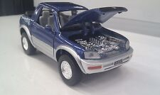 Toyota RAV4 cabriolet blau kinsmart Auto Spielzeug modell 1/32 maßstab
