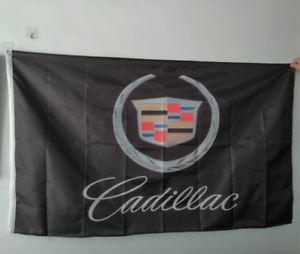 Flag Free Ship Brand New Cadillac Seville Deville Escalade CT CTS XT 3x5 Ft
