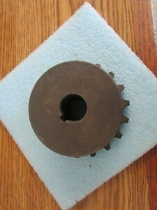 Martin Model: 6018-1 Roller Chain Sprocket. Unused Old Stock. No Box <