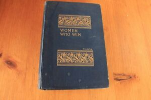 Women-who-Win-or-make-things-happen-by-William-M-Thayer-Hardback-1897