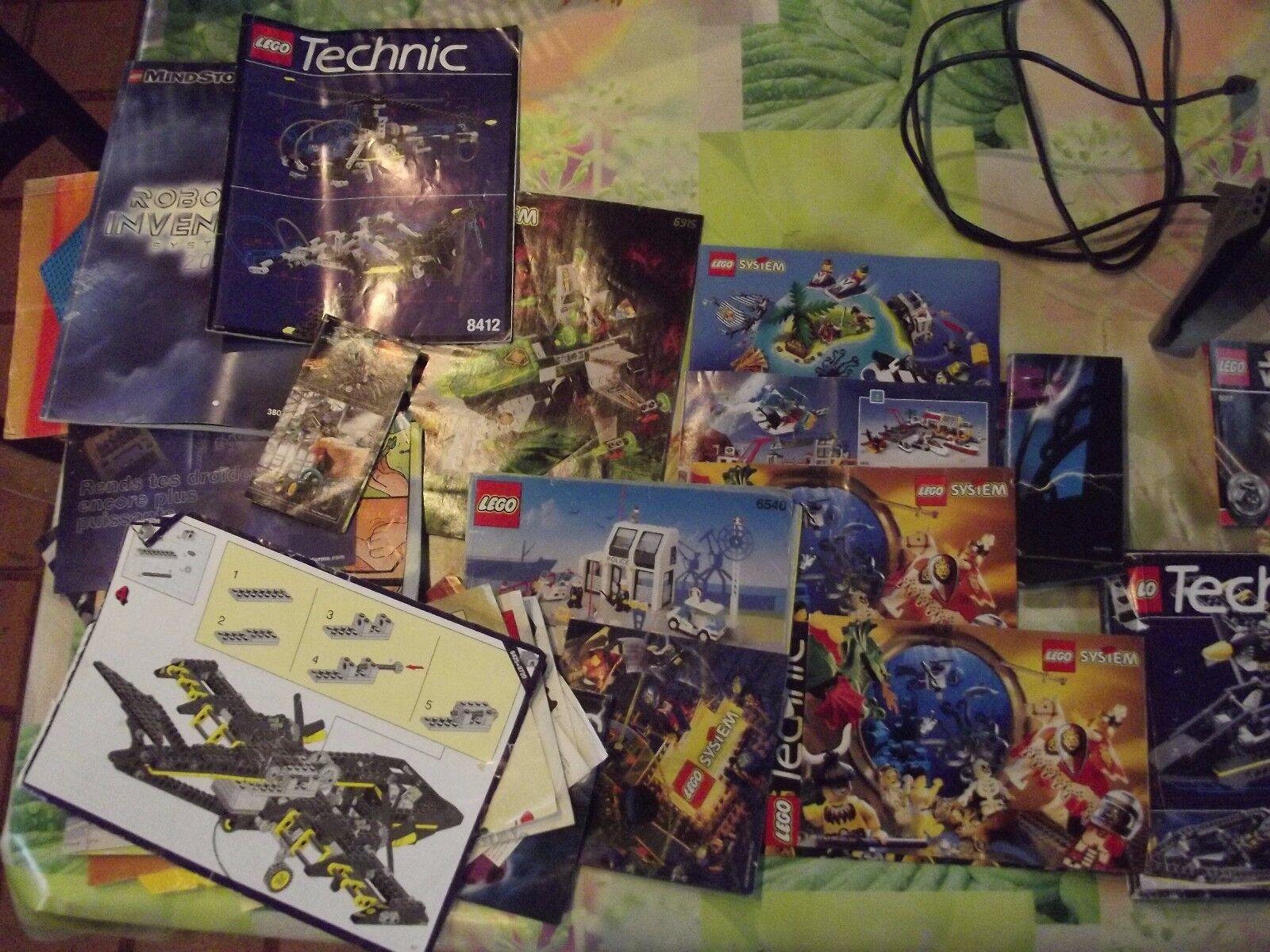 Lot de document catalogue et accessoire Lego électrique électrique électrique 1250 gr. 5bfba1