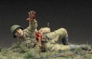 1//35 Resin Figure Model Kit US Soldiers Marines WWII WW2 Unpainted Unassambled