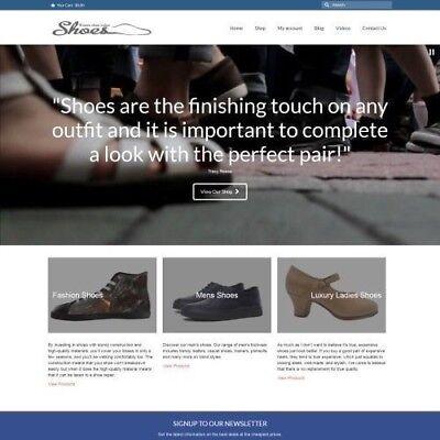 Zapatos sitio web empresa a GANAR £ 450.80 un descuento 9500 visitantes por mes