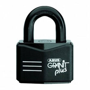 ABUS GRANIT Padlock- 37RK70 High Security Padlocks-X Plus -Free Post.