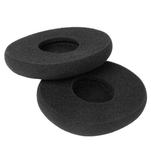 Black 1Pair Replacement Sponge Ear Pads Cushion For Logitech H800 Headphones