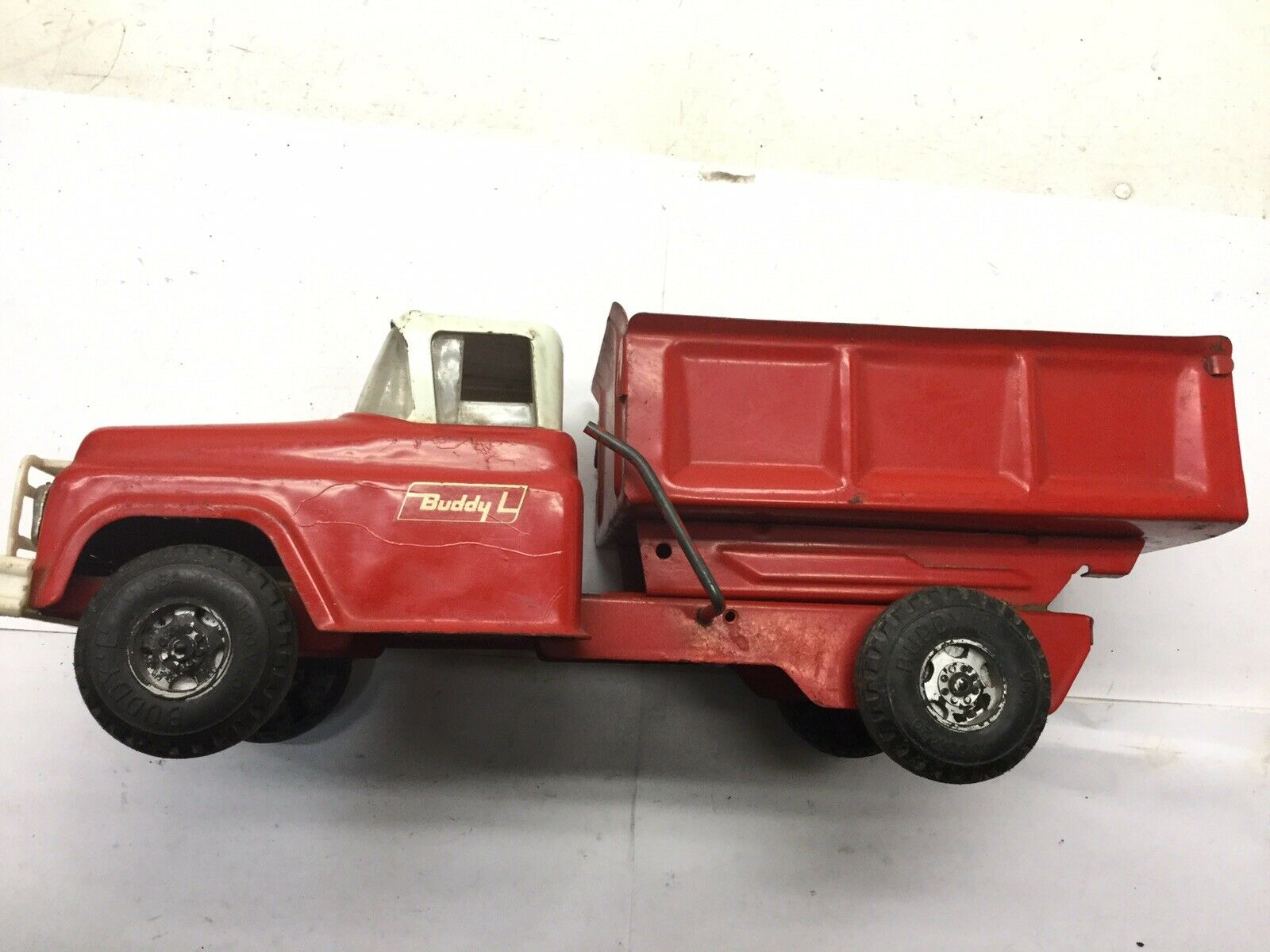 Vintage Buddy L rot Dump Truck. USED