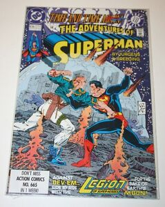 The-Adventures-of-Superman-Issue-478-May-1991-Comic-Book