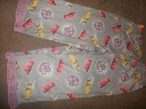 18m Disney Pixar Cars 3 Girl's Just Cruzin Pajama Pants Sizes 12m b82 4t 5t