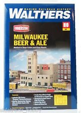 HO Scale Walthers Cornerstone 933-3024 Milwaukee Beer & Ale Brewery Building Kit