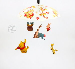 Crib Mobile Winnie The Pooh Musical Disney 1974 Vintage Sears ...