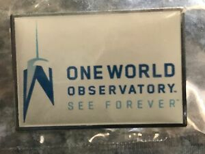 One-World-Observatory-Collectible-Lapel-Pin-See-Forever-NYC-New-Tower-NY
