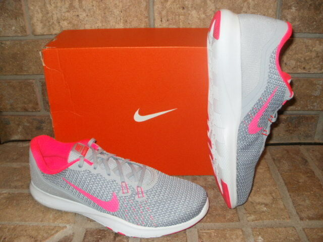 check out 205cc 00daf ... New Nike Flex Trainer Trainer Trainer 7 Running Shoe 898479 Select  Gray-Pink or Black ...