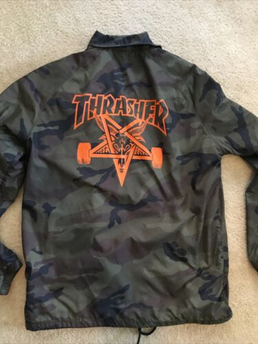 Thrasher Magazine Skateboard Windbreaker