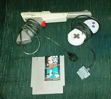 Super Mario Bros. / Duck Hunt (Nintendo Entertainment System, 1985) with zapper