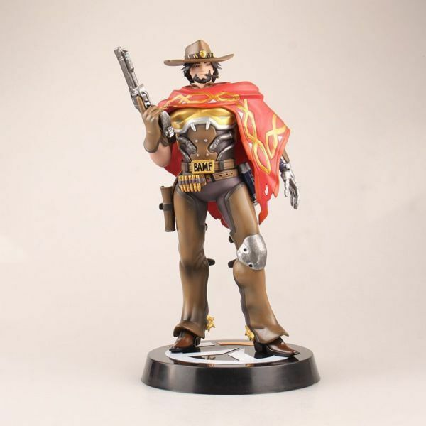 Overwatch OW McCree PVC Figure Toy 1 6 Scale 11