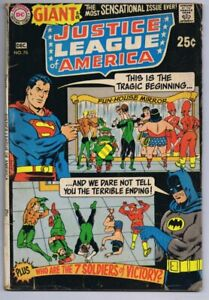 Justice-League-of-America-76-ORIGINAL-Vintage-1969-DC-Comics