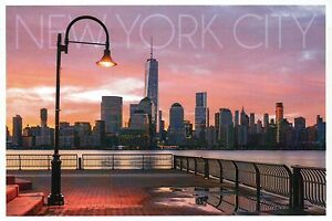 One World Trade Center Lower Manhattan New York City Sunset