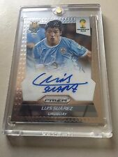 2014 Panini Prizm FIFA World Cup LUIS SUAREZ  Auto Autograph Signature Uruguay