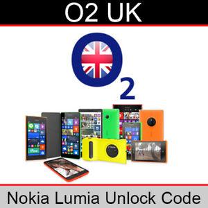 Details about O2 UK Nokia Lumia Unlock Code