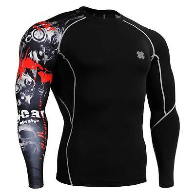 FIXGEAR CP-B30 Skin Tights Compression Under Shirts Fitness GYM MMA Workout