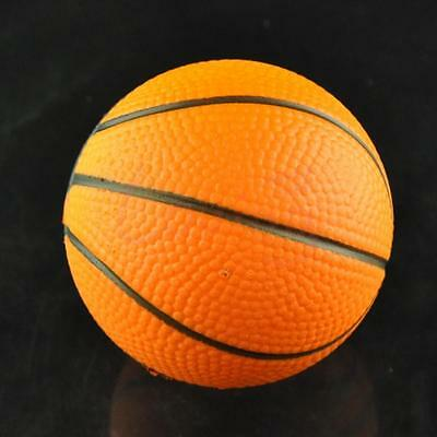 Orange Basketball Stress Relief Relaxation Squeeze Elastic Soft Toy Ball Gift