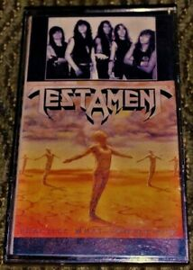 Testament-Practice-What-You-Preach-VG-Cassette-Tape-Thrash-Metal-Plays-Well