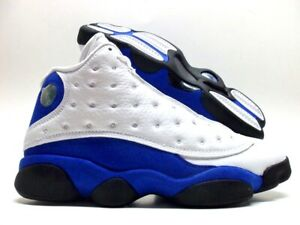 6f84208a74c13 NIKE AIR JORDAN 13 X111 RETRO WHITE/HYPER ROYAL-BLACK SIZE MEN'S 14 ...