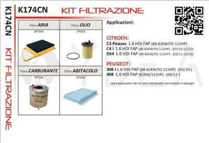 Set-4-Filters-Servicing-Citroen-DS4-C4-C3-Picasso-1-6-HDI-HDI-FAP