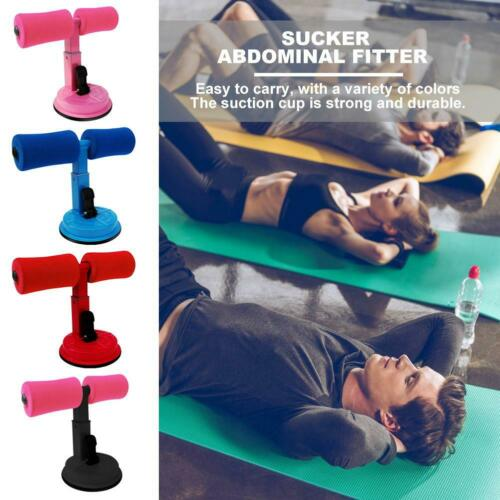 Suction Cup Sit-ups Assist Bar Aid Weight Loss Belly Fitness Gym Home Equipment