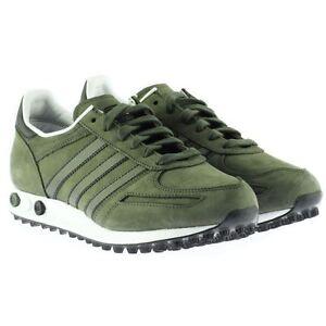 adidas trainer verdi pelle