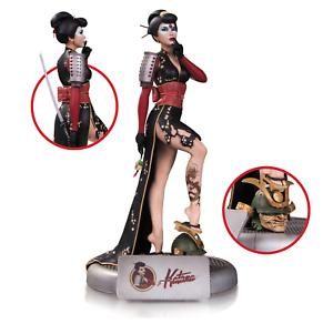 DC Comics Bombshells Sexy Katana Samurai Statue Figure from Dc Collectibles NEW