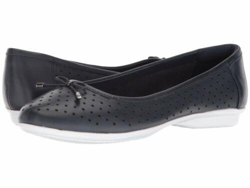 Details about  /Clarks 26134367 Gracelin Lea Navy Leather Women/'s Shoes