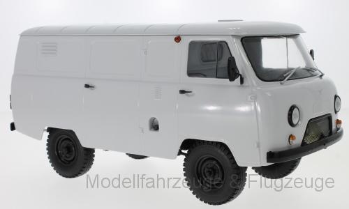 47071 Uaz 452 Van (3741), Blanc, 1 18
