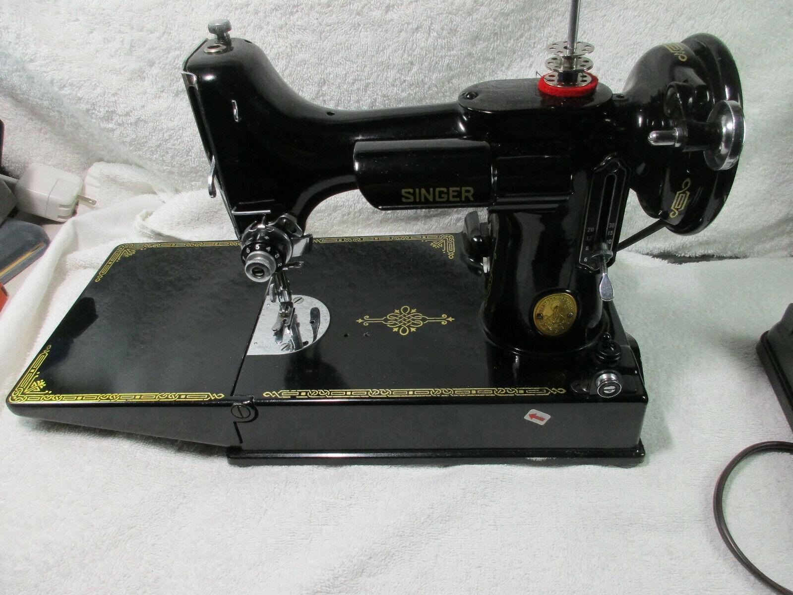 Domestic Home Sewing Machine Motor /& Pedal Singer HA1 15 66 99K#34