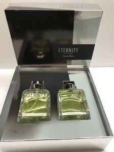 Eternity for Men by Calvin Klein 2pc Set 3.4 oz Eau de Toilette Spray (2011)
