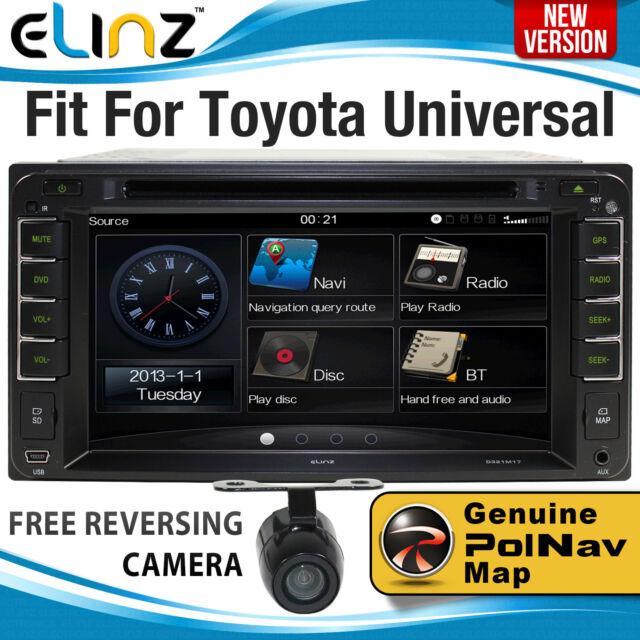 TOYOTA CAR GPS DVD Player BT HILUX Landcruiser PRADO Stereo Radio Corolla Camry