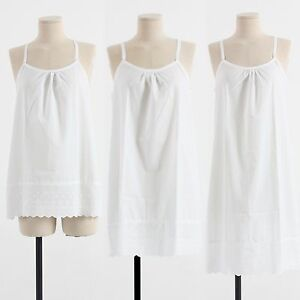 2f401be51a71d Details about Womens Cotton White Lace Slip Underwear Sleepwear Dress  Underskirt Petticoat