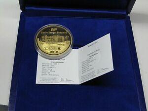 1000 Euro 2010 Centre Georges Pompidou 10 Unzen Gold PP nur 35 Exemplare
