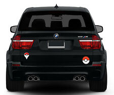 3 x AUFKLEBER POKEMON Go PLUS + POKEBALL PVC Sticker decal laptop car Auto tank