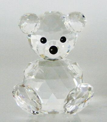 TEDDY BEAR Sitting Swarovski Crystal Figurine