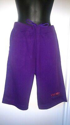 ???? Italiano Designer Vendita ???? Donna Stile Boxe Bermuda Pantaloni-viola Grande- Sconti