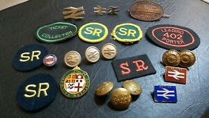 Rail-Railway-Train-Enamel-Badges-Buttons-Patches-Pins-23-Piece-Collection