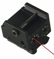Mini Red Laser Sight For Subcompact Pistol, Compact & Full Size