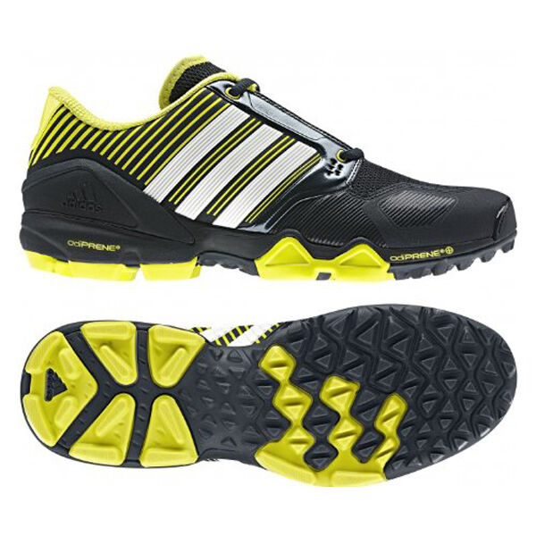 Adidas - schuhe adipower hockey schuhe unisex - feldhockey schwarz - gelb neue