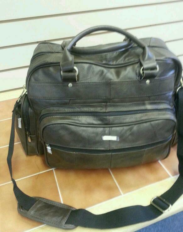 LEATHER Weekend ZAINETTO SPALLA GRIP BAG prosaguire bagagli