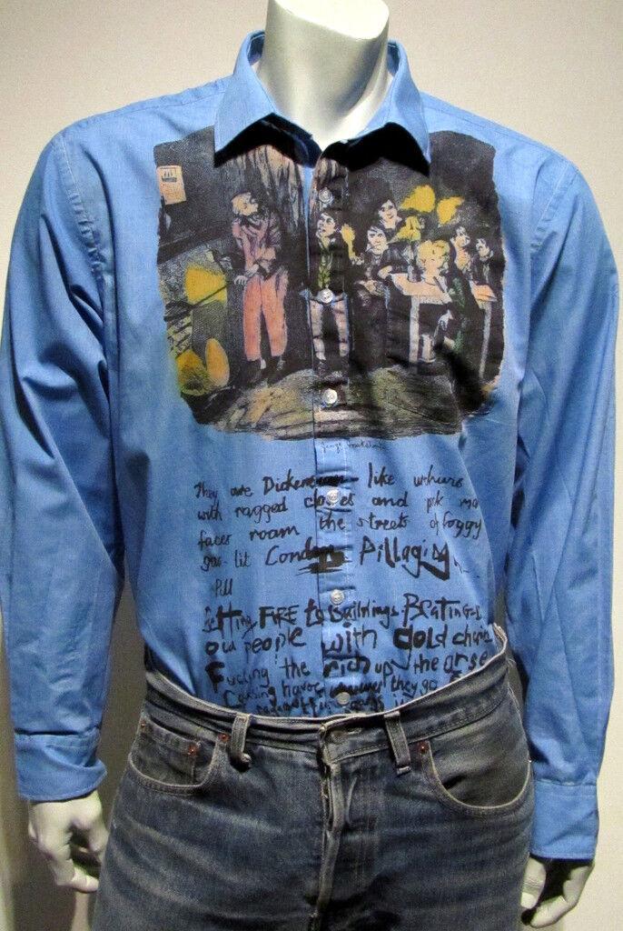 Punk seditionaries Oliver Twist Camicia Da Sexy Hooligans