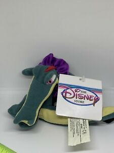 "Disney Fantasia CROC Beanbag Plush 9"" Retired With Tags"