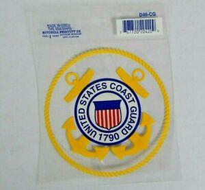 United-States-Coast-Guard-Car-Decal-Window-Sticker-USCG-3-75-034-x-3-75-034